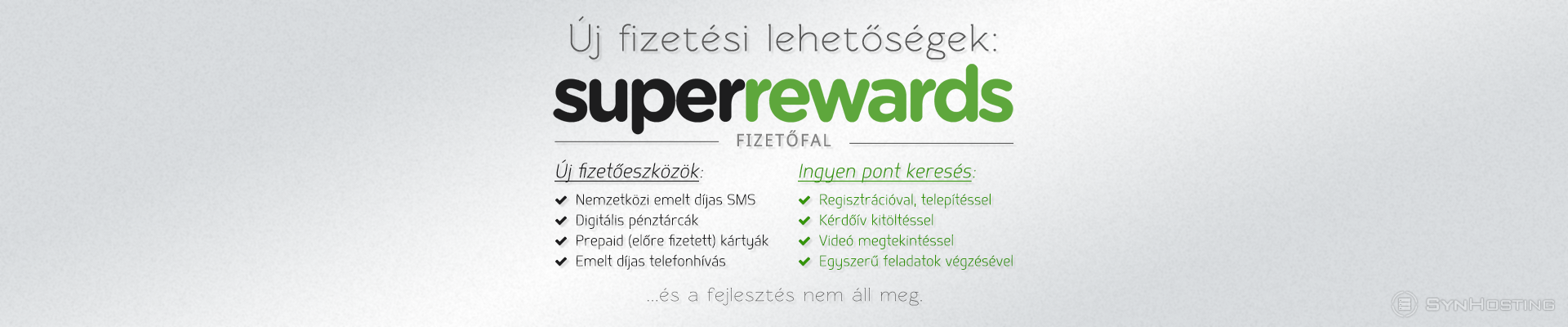 SuperRewards fizetőfal